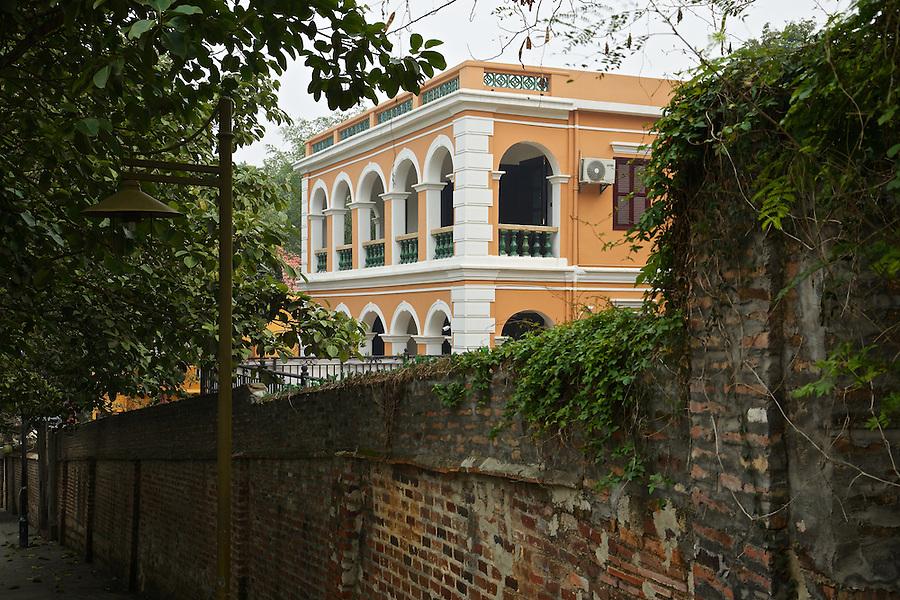 A Restored Residence On Fuxing Road, Gulangyu, Xiamen (Amoy).