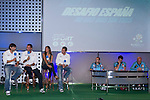 01.06.2012. Telecinco presents its official schedule for the transmission of Eurocup 2012 to the Ciudad del Futbol of Las Rozas, Madrid. In the image (Alterphotos/Marta Gonzalez)