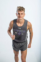 NWA Democrat-Gazette/BEN GOFF @NWABENGOFF<br /> Camren Fischer of Fayetteville, boys cross country runner of the year, poses for a photo Wednesday, Nov. 28, 2018, at the Northwest Arkansas Democrat-Gazette studio in Springdale.