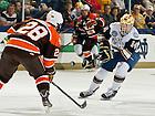 Mar. 1, 2013; Hockey vs. Bowling Green, Thomas DiPauli (14).