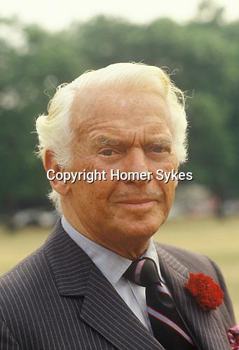 Douglas Fairbanks Jr Junior in Hyde Park London Circa 1985