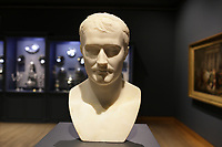 Part of the Ben Weider's collection on Napoleon at Montreal Museum of Fine Arts.<br /> <br /> Bust of Napoleon I<br /> <br /> Photo : Pierre Roussel - Agence Quebec Presse<br /> <br /> <br /> <br /> <br /> <br /> <br /> <br /> <br /> <br /> <br /> <br /> .