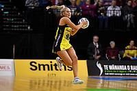 Maddy Gordon of the Pulse during the ANZ Premiership Netball - Te Wānanga o Raukawa Pulse v Northern Mystics at TSB Bank Arena, Wellington, New Zealand on Monday 10 May 2021.<br /> Photo by Masanori Udagawa. <br /> www.photowellington.photoshelter.com