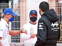 23rd May 2021; Principality of Monaco; F1 Grand Prix of Monaco,   Race Day;   47 Mick Schumacher GER, Haas F1 Team, 77 Valtteri Bottas FIN, Mercedes-AMG Petronas F1 Team, F1 Grand Prix of Monaco at Circuit de Monaco
