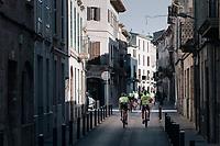 Team Trek-Segafredo Mallorca rolling into town at training camp <br /> <br /> January 2018