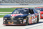 Nationwide Series driver Robert Richardson Jr. (23) in action during the NASCAR Nationwide Series qualifying at Texas Motor Speedway in Fort Worth,Texas.