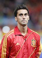 Spain's national team Alvaro Arbeloa during match. October 16, 2012. (ALTERPHOTOS/Alvaro Hernandez) /NORTEPhoto