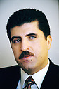 Irak 2000  Nechirvan Barzani, premier ministre du KDP      Iraq 2000 Nechirvan Barzani, Prime Minister of KDP