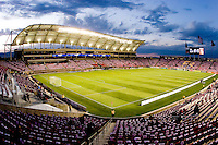 Rio Tinto Stadium prior to the Real Salt Lake vs New York Red Bulls 1-1 draw at Rio Tinto Stadium in Sandy, Utah. Photo by Eric Salsbery/isiphotos.com