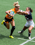 Netherlands vs Hong Kong during the Day 1 of the IRB Women's Sevens Qualifier 2014 at the Skek Kip Mei Stadium on September 12, 2014 in Hong Kong, China. Photo by Aitor Alcalde / Power Sport Images