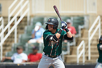 Mason Martin (35) of the Greensboro Grasshoppers at bat against the Piedmont Boll Weevils at Kannapolis Intimidators Stadium on June 16, 2019 in Kannapolis, North Carolina. The Grasshoppers defeated the Boll Weevils 5-2. (Brian Westerholt/Four Seam Images)