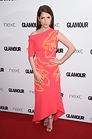 Anna Kendrick<br /> at the Glamour Women of the Year Awards 2017, Berkeley Square, London. <br /> <br /> <br /> ©Ash Knotek  D3274  06/06/2017