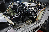 BNPS.co.uk (01202) 558833<br /> Pic: HistoricsAuctioneers/BNPS<br /> <br /> A real fixer-upper...<br /> <br /> A rare Lamborghini supercar that is in a jumble of parts having been dismantled by its last owner has sold for almost £260,000.<br /> <br /> The black Countach LP500S is one of only 37 right hand models produced between 1974 and 1990 out of a total of 321. <br /> <br /> It was bought by the vendor over 20 years ago before having it completely stripped ready for a full restoration that never happened.