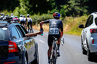 Reuben Thompson (NZ National Team). Masterton-Alfredton road circuit - Stage Two of 2021 NZ Cycle Classic UCI Oceania Tour in Wairarapa, New Zealand on Wednesday, 13 January 2021. Photo: Dave Lintott / lintottphoto.co.nz