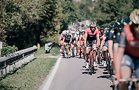 Koen de Kort (NED/Trek-Segafredo) sticking out<br /> <br /> Il Lombardia 2017<br /> Bergamo to Como (ITA) 247km