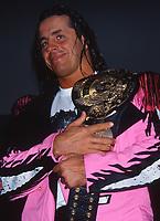 Bret Hart 1989                                                                              By John Barrett/PHOTOlink