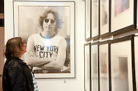 "View of the Bob Gruen ""Rock Seen"" photo exhibition at Art629 in New York City. May 4, 2012. © Kristen Driscoll/MediaPunch Inc."