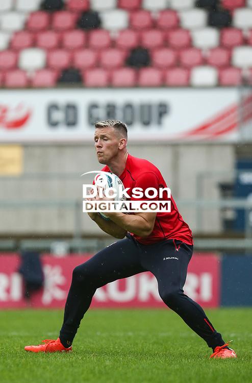 Thursday 7th October 2021<br /> <br /> Craig Gilroy during Ulster Rugby Captain's Run held at Kingspan Stadium, Ravenhill Park, Belfast, Northern Ireland. Photo by John Dickson/Dicksondigital