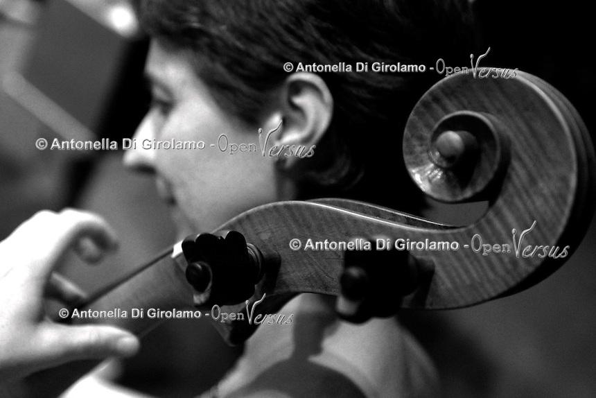 Orchestra Upter Antiqua<br /> concerto d' inaugurazione 28° anno accademico 2015/2016<br /> Teatro Eliseo Roma<br /> Rebeca Ferri, violoncello barocco
