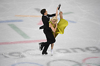 OLYMPIC GAMES: PYEONGCHANG: 20-02-2018, Gangneung Ice Arena, Figure Skating, Ice Dance Free Dance, Piper Gilles and Paul Poirier (CAN), ©photo Martin de Jong