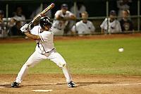SAN ANTONIO, TX - MARCH 17, 2008: The University of Texas Longhorns vs. The University of Texas at San Antonio Roadrunners Baseball at Roadrunner Field. (Photo by Jeff Huehn)