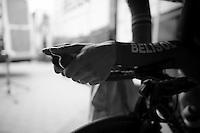 warming up<br /> <br /> 3 Days of West-Flanders 2014<br /> day 1: TT/prologue Middelkerke 7,0 km