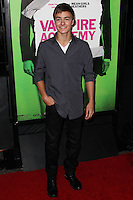 """LOS ANGELES, CA - FEBRUARY 04: Peyton Meyer at the Los Angeles Premiere Of The Weinstein Company's """"Vampire Academy"""" held at Regal Cinemas L.A. Live on February 4, 2014 in Los Angeles, California. (Photo by Xavier Collin/Celebrity Monitor)"""