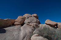 Climbers at Hidden Valley, Joshua Tree National Park, California