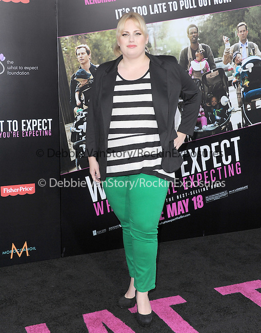 Rebel Wilson at Lionsgate L.A. Premiere of  What to Expect When You're Expecting held at The Grauman's Chinese Theatre in Hollywood, California on May 14,2012                                                                               © 2012 Hollywood Press Agency