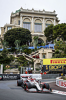 22nd May 2021; Principality of Monaco; F1 Grand Prix of Monaco, qualifying sessions;  07 RAIKKONEN Kimi (fin), Alfa Romeo Racing ORLEN C41