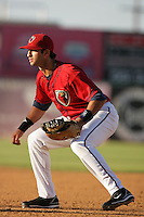 May 2, 2010: Mark Ori of the Lancaster JetHawks during game against the Lake Elsinore Storm at Clear Channel Stadium in Lancaster,CA.  Photo by Larry Goren/Four Seam Images