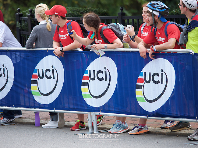 The 2015 UCI World Road Championship Men's Elite Road Race in Richmond, VA on September 27, 2015.