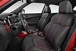 Front seat view of 2017 Nissan JUKE SV 5 Door SUV Front Seat  car photos