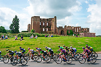 Picture by Alex Whitehead/SWpix.com - 15/06/2018 - Cycling - 2018 OVO Energy Women's Tour - Stage 3, Atherstone to Royal Leamington Spa - Kenilworth Castle.