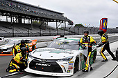 #19: Brandon Jones, Joe Gibbs Racing, Toyota Camry Menards Mastercraft Doors