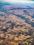Confluence of the Iowa and Mississippi Rivers, farm lands, America's flyover country: SMF-LAX-MDW<br /> <br /> Port Louisa NWR