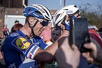 Zdenek Stybar (CZE/Deceuninck-Quick Step) wins the 62nd E3 BinckBank Classic (Harelbeke) 2019 <br /> <br /> <br /> 62nd E3 Harelbeke 2019 (1.UWT)<br /> Harelbeke – Harelbeke: 203,9km<br /> ©kramon
