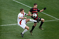 Chester, PA - Sunday December 10, 2017: Grant Lillard, Foster Langsdorf Stanford University defeated Indiana University 1-0 in double overtime during the NCAA 2017 Men's College Cup championship match at Talen Energy Stadium.