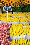 Netherlands, North Holland, Amsterdam: Tulips in the Flower Market | Niederlande, Nordholland, Amsterdam: Tulpen im Angebot auf dem Blumenmarkt