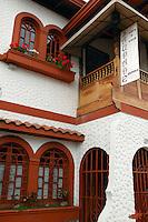 Saudade art gallery and cafe in San Jose, Costa Rica