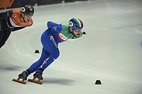 SPEEDSKATING: DORDRECHT: 05-03-2021, ISU World Short Track Speedskating Championships, QF 1500m Men, Yuri Confortola (ITA), ©photo Martin de Jong