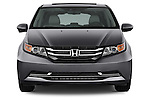 Straight front view of a 2017 Honda Odyssey EX-L