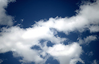 BOGOTÁ-COLOMBIA- Nubes y cielo azul./ Blu sky with clouds.  Photo: VizzorImage