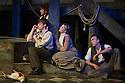 London, UK. 03.06.2014. Mountview students present THE NOTEBOOK OF TREGORIN by Tennessee Williams, directed by Rebecca Frecknall. The cast are: Romayne Andrews (CONSTANTINE), Stephanie Brooks (POLINA ), Elliot Brown (DORN), Kate Cooper (ARKADINA ), Edward Firth (SHAMRAYEV), Roanna Lewis (NINA), Matthew Marrs (YAKOV), Mark Matthews (MEDVEDENKO), Owen McCavana (SORIN ), Mollie Mohala (MASHA ), Hugh Roberts (TRIGORIN ). Photograph © Jane Hobson.