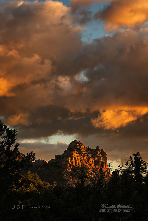 December Sunset, Sedona, Arizona
