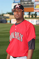 Kannapolis Intimidators Oneli Perez before the South Atlantic League All-Star game at Classic Park on June 20, 2006 in Eastlake, Ohio.  (Mike Janes/Four Seam Images)