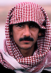 Marsh Arabs. Southern Iraq. 1984 Marsh Arab man.