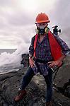 Art Wolfe on location, Hawaii Volcanoes Natioanal Park, Hawaii