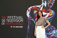 FESTIVAL TELEVISION DE MONTE CARLO - PHOTOCALL 'CHICAGO MED' AVEC TORREY DEVITTO