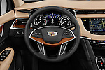 Car pictures of steering wheel view of a 2018 Cadillac XT5 AWD-Platinum 5 Door SUV Steering Wheel